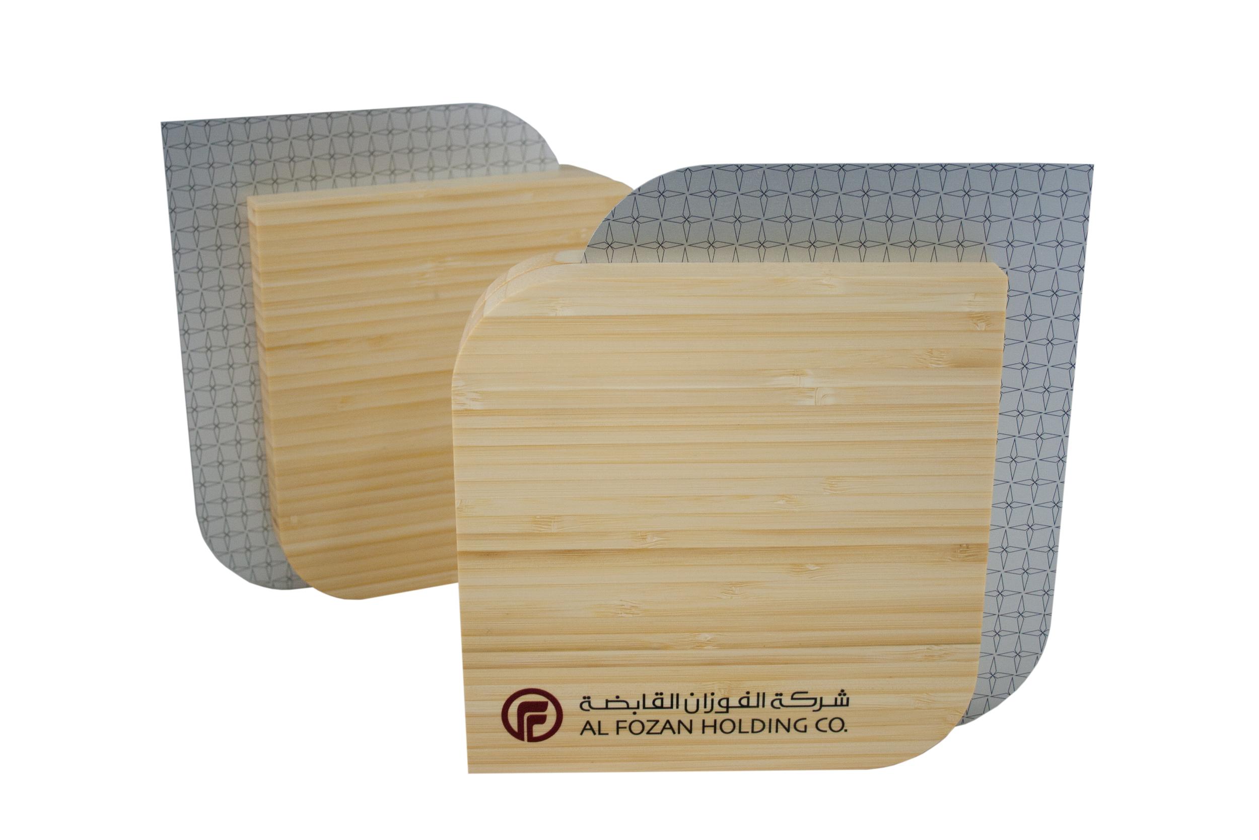 al fozan holdings co - custom eco-friendly plaque design