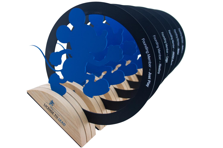 disney custom eco awards FSC wood sustainable