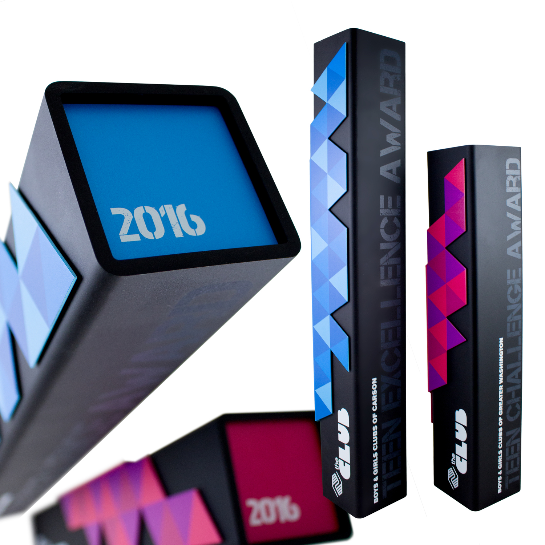 metal awards modern trophies aluminium