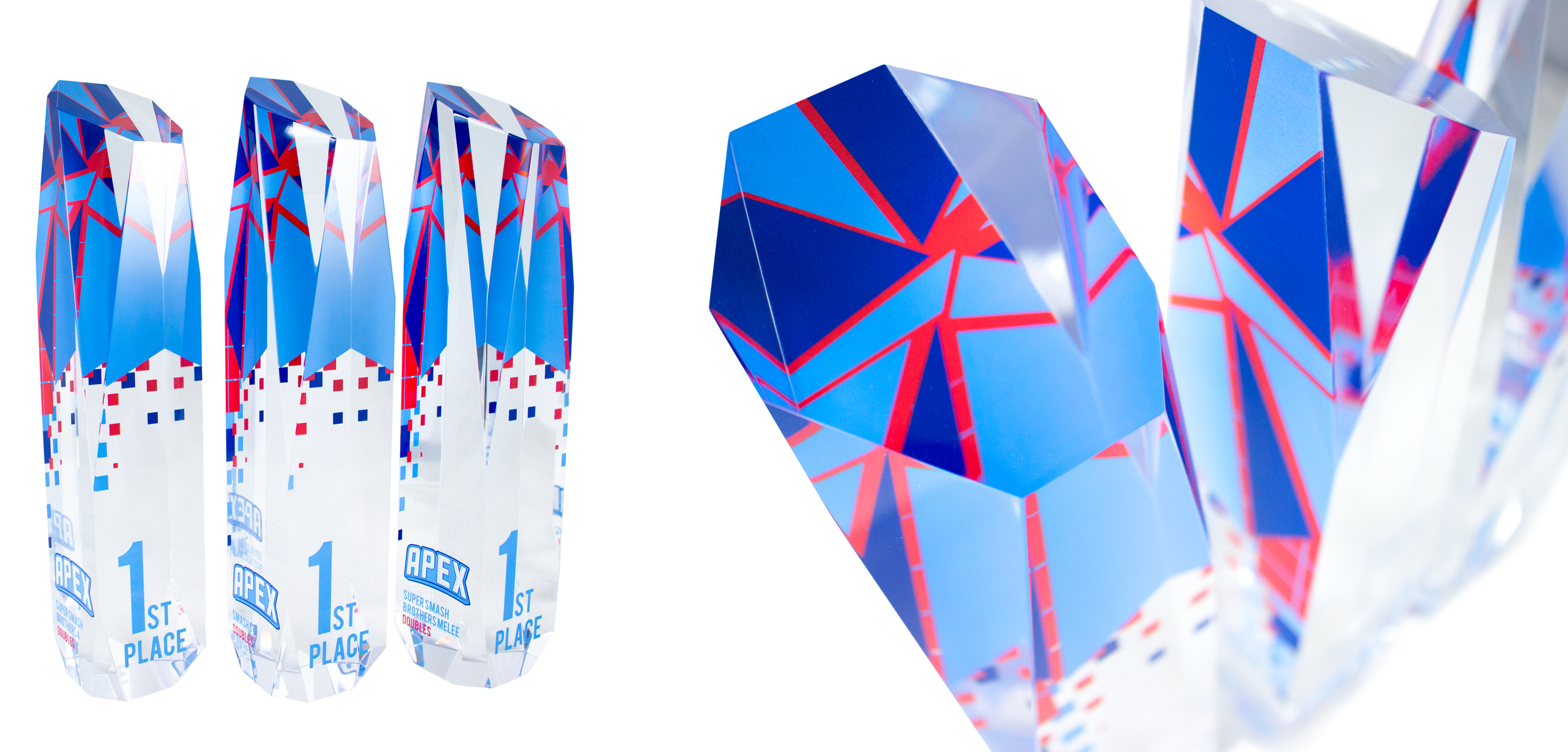 apex gaming awards - modern acrylic awards