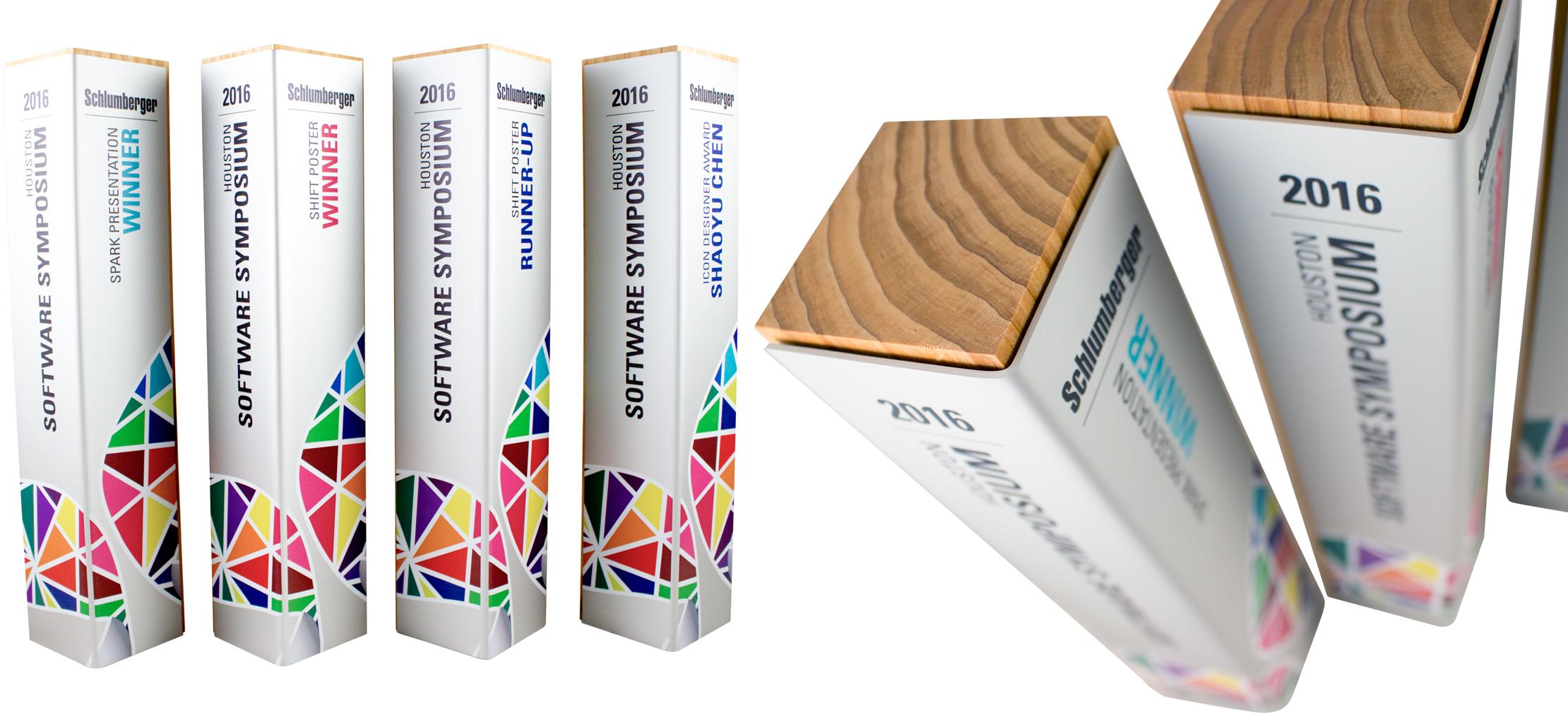 schlumberger - custom eco friendly awards