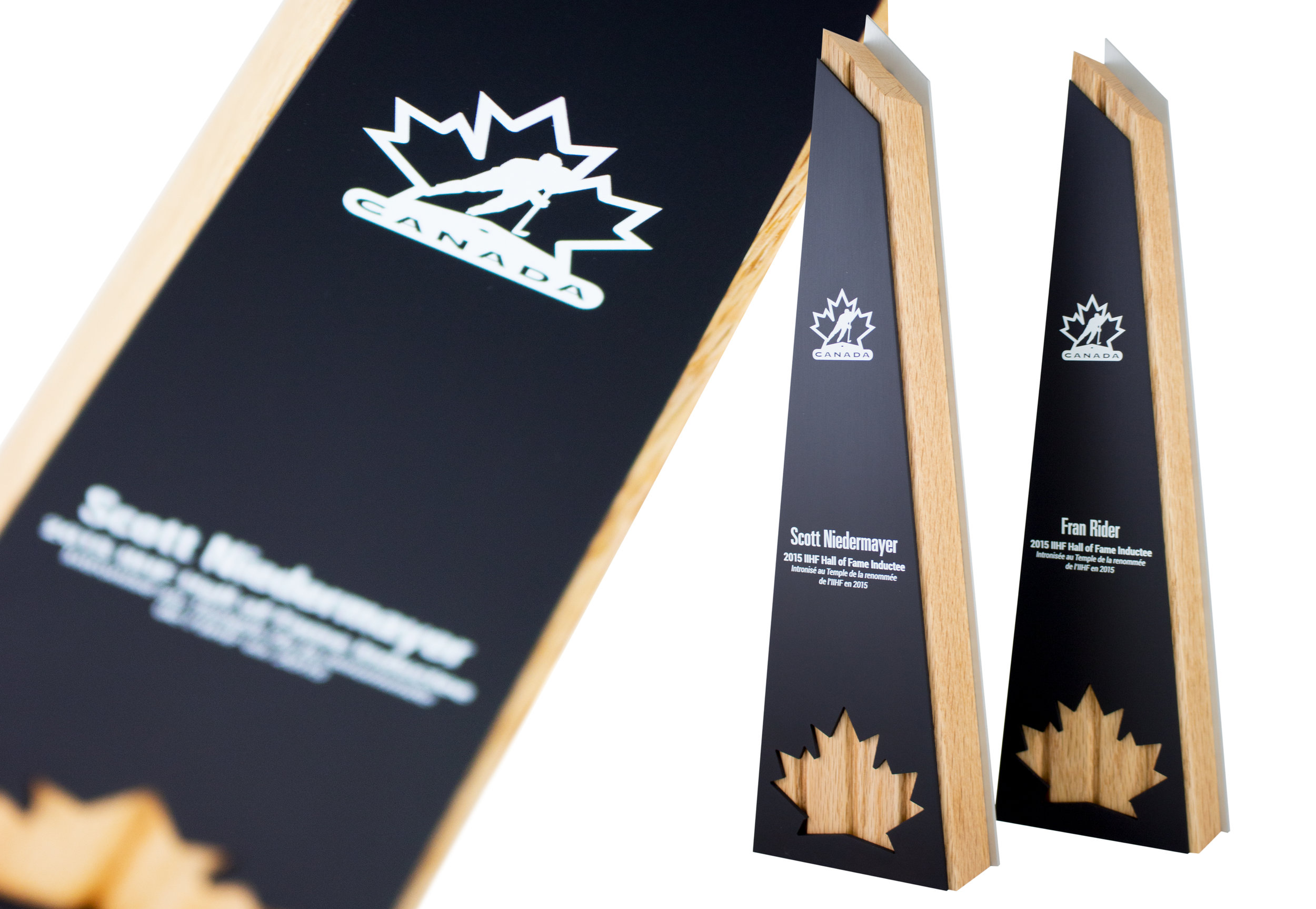 hockey canada hall of fame trophies eco modern custom