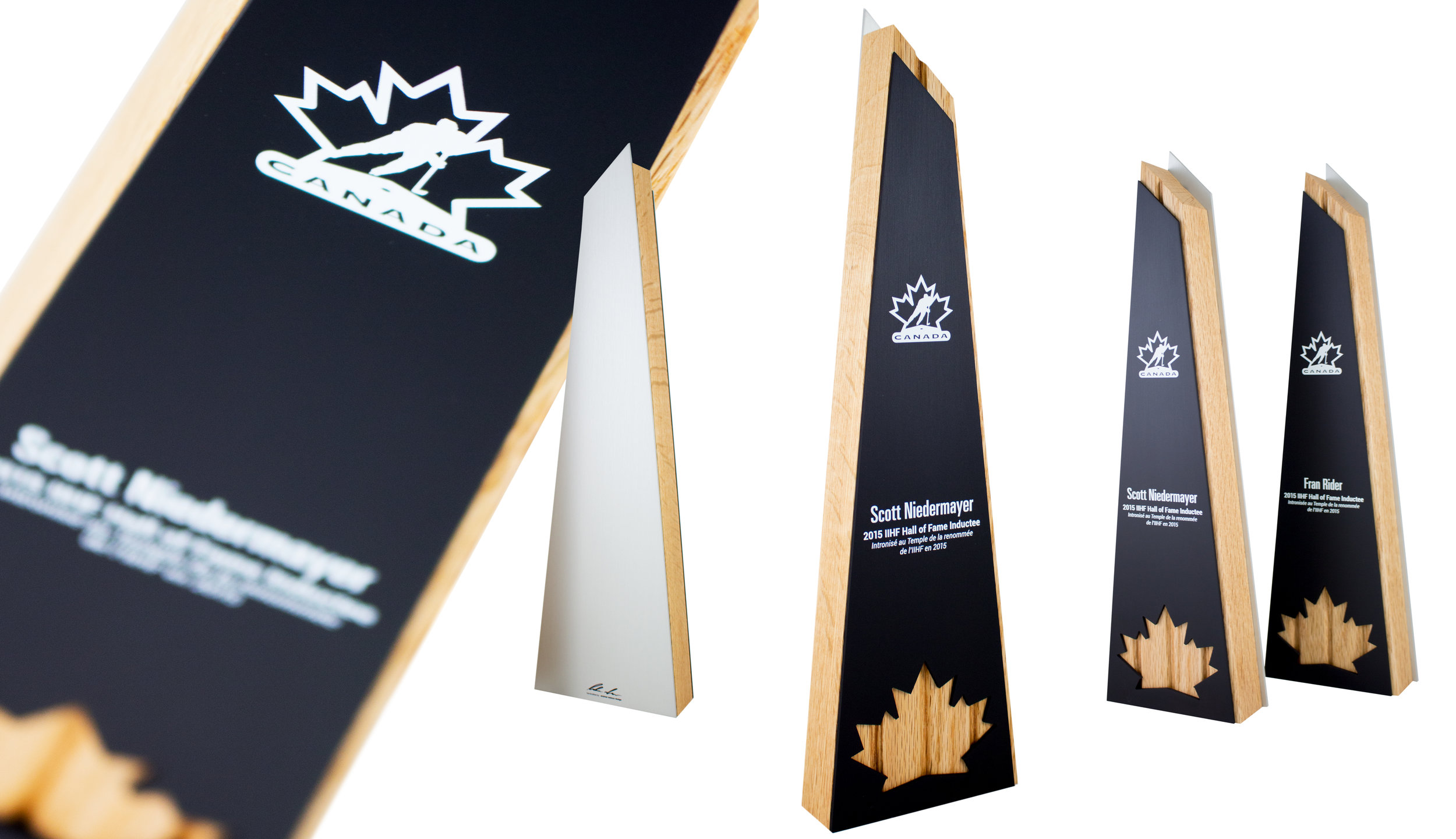 hockey canada hall of fame - custom trophies