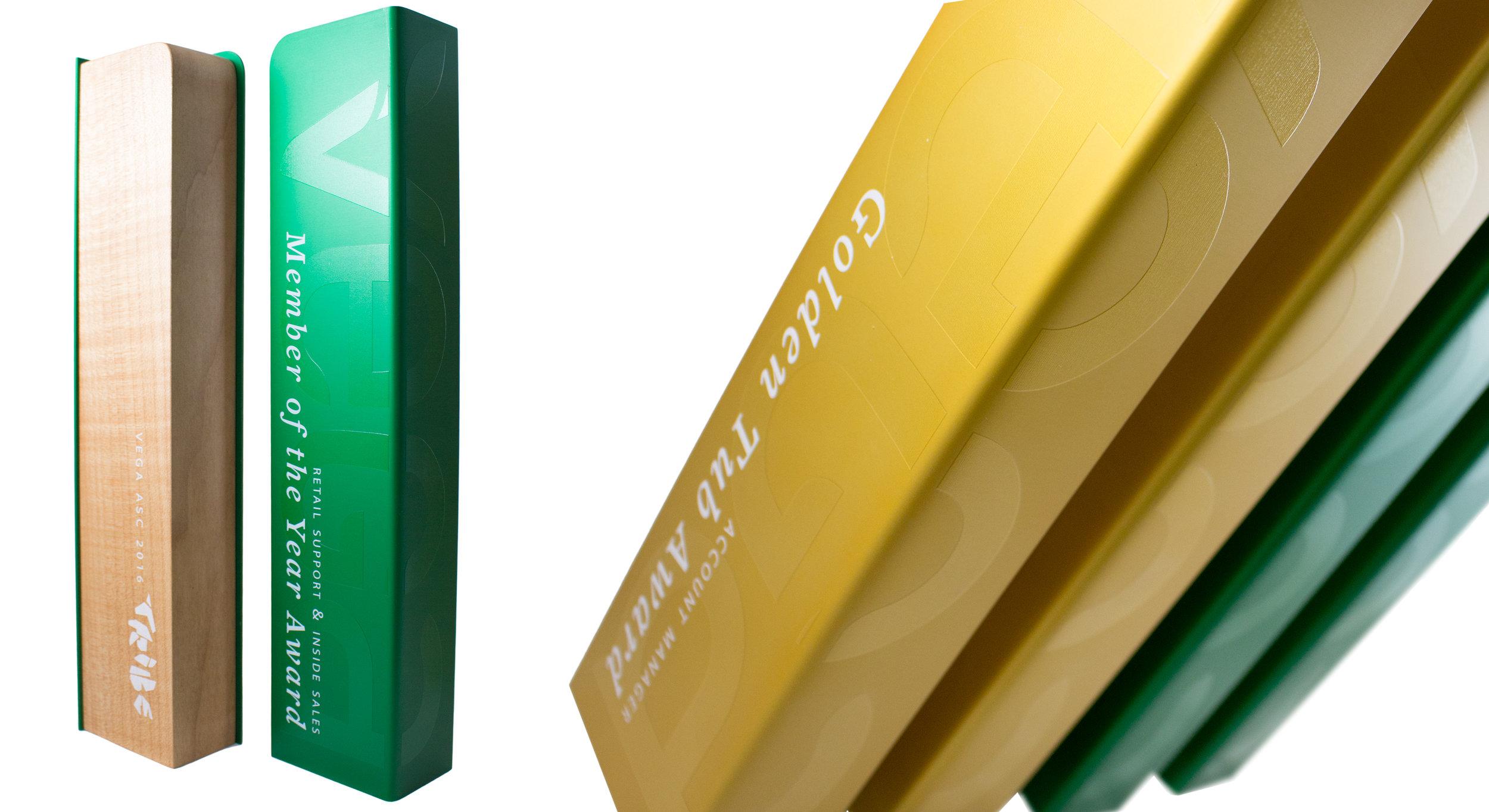 vega - custom eco friendly awards