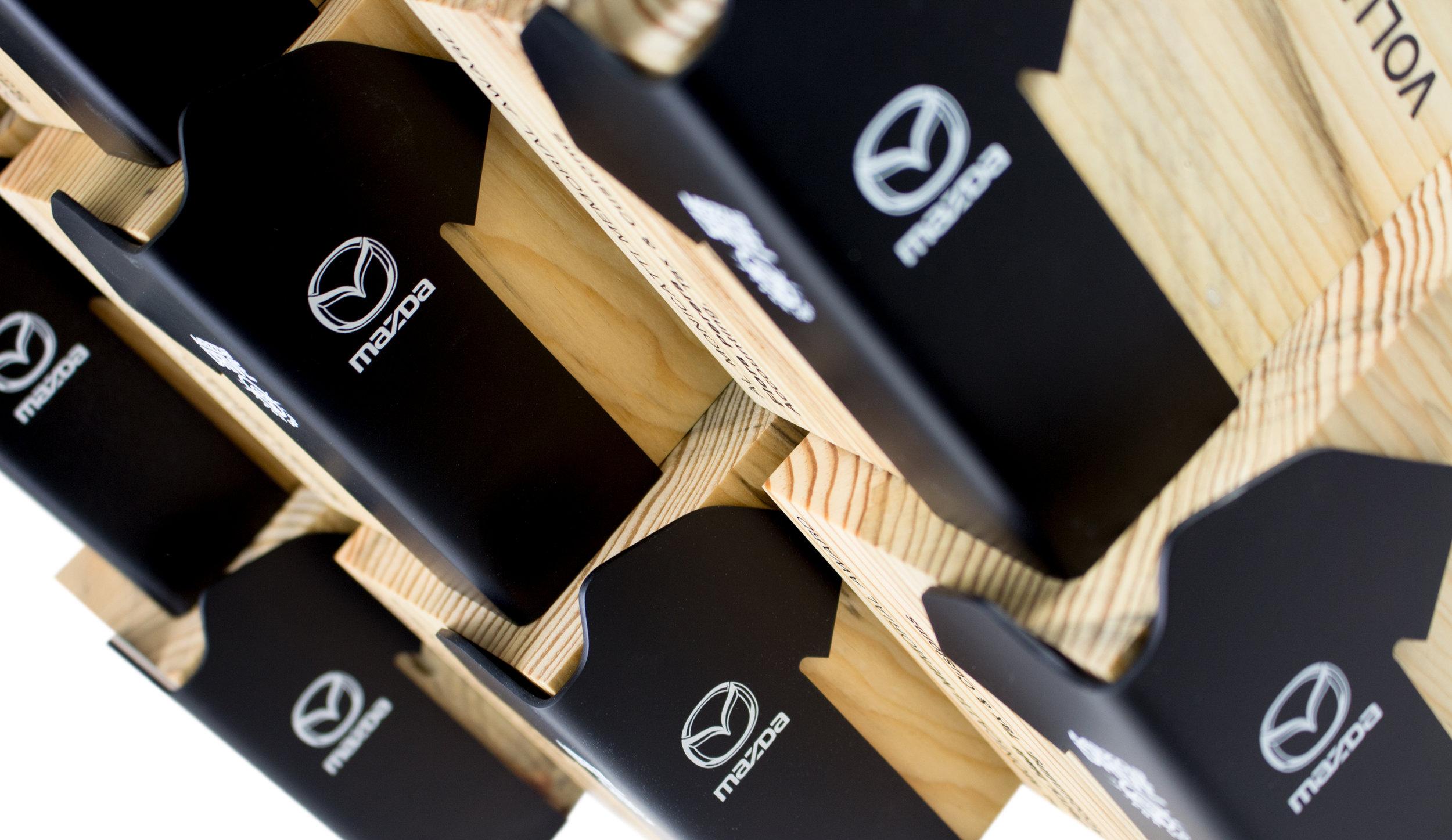 mazda custom corporate recognition awards eco design