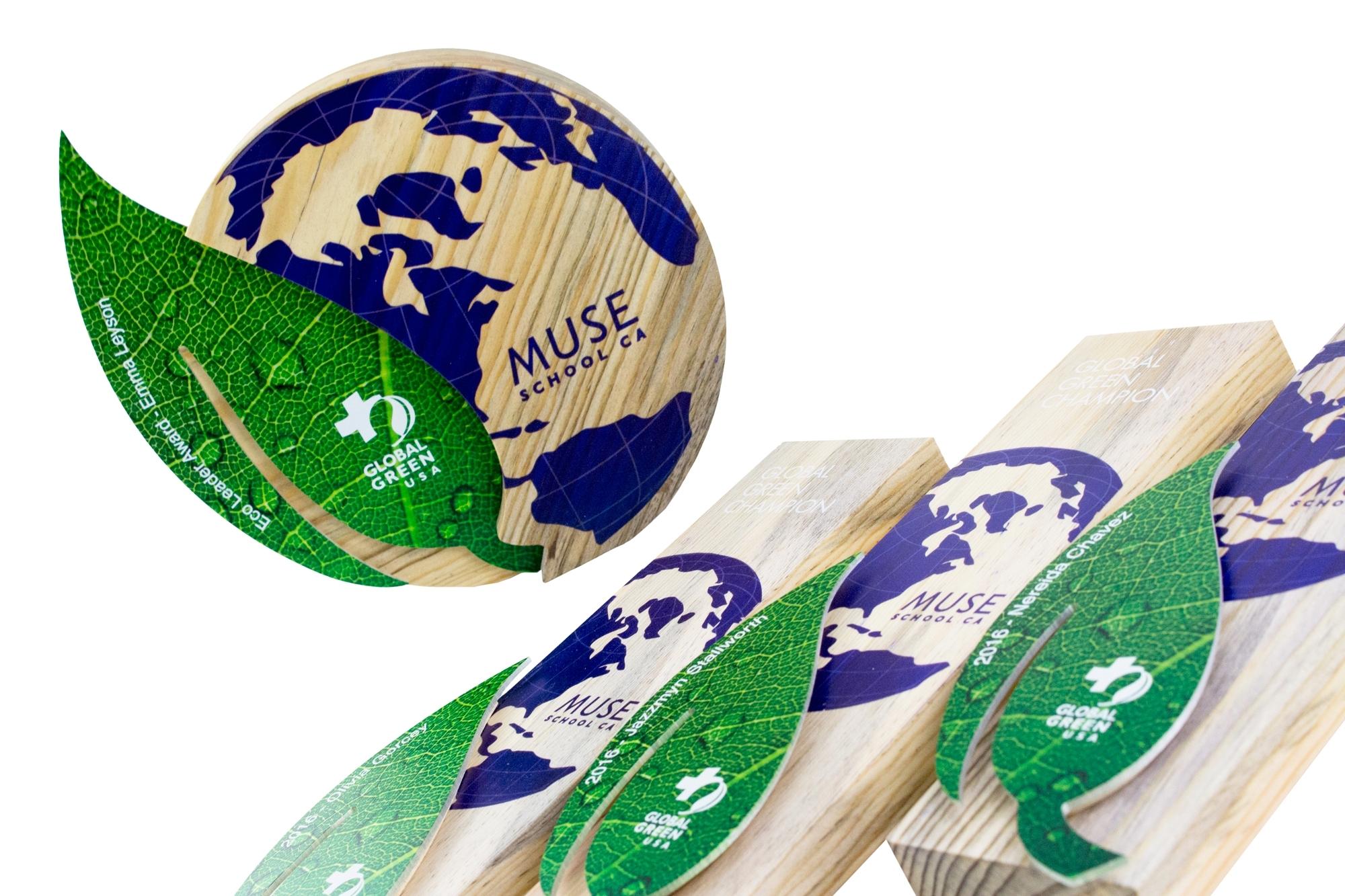 global green pre-oscar awards eco design