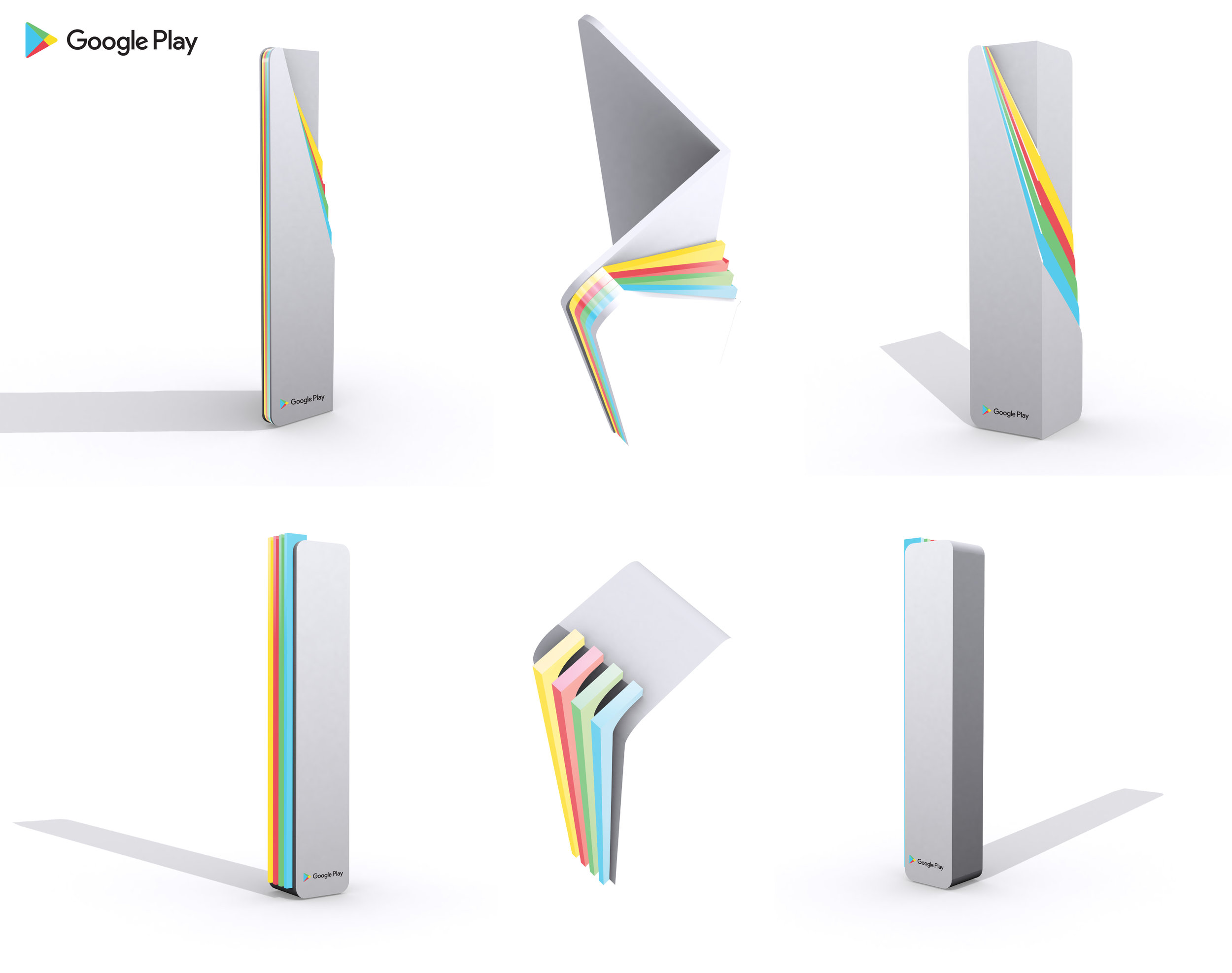 google play awards - custom designs