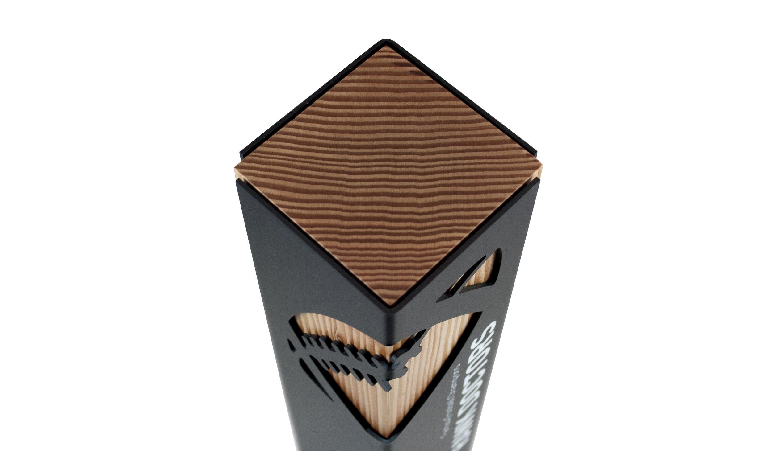 custom eco football trophy sporting