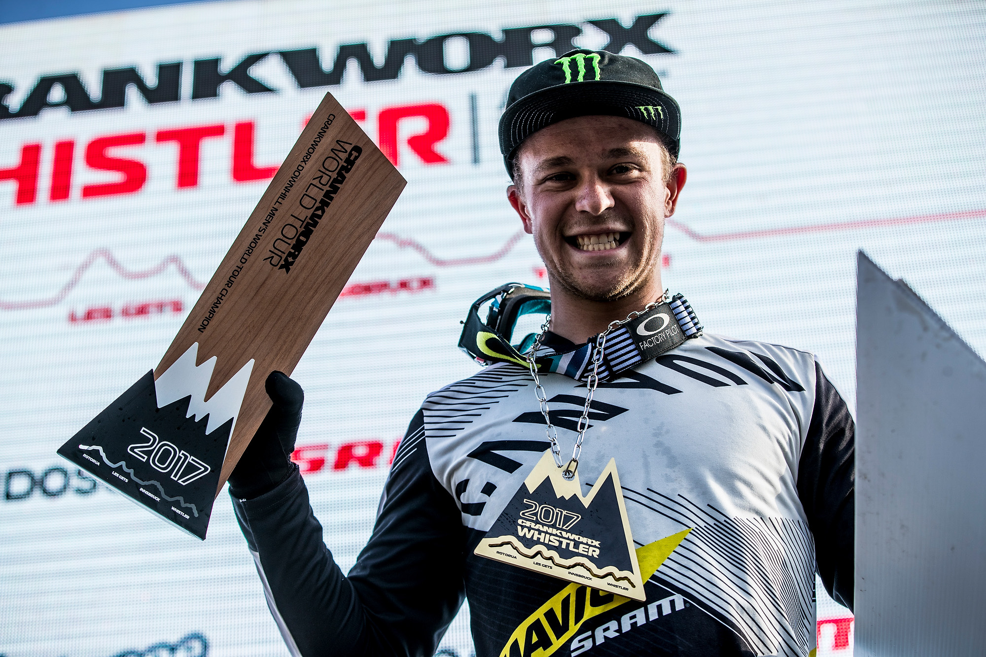 crankworx custom trophy award and medals