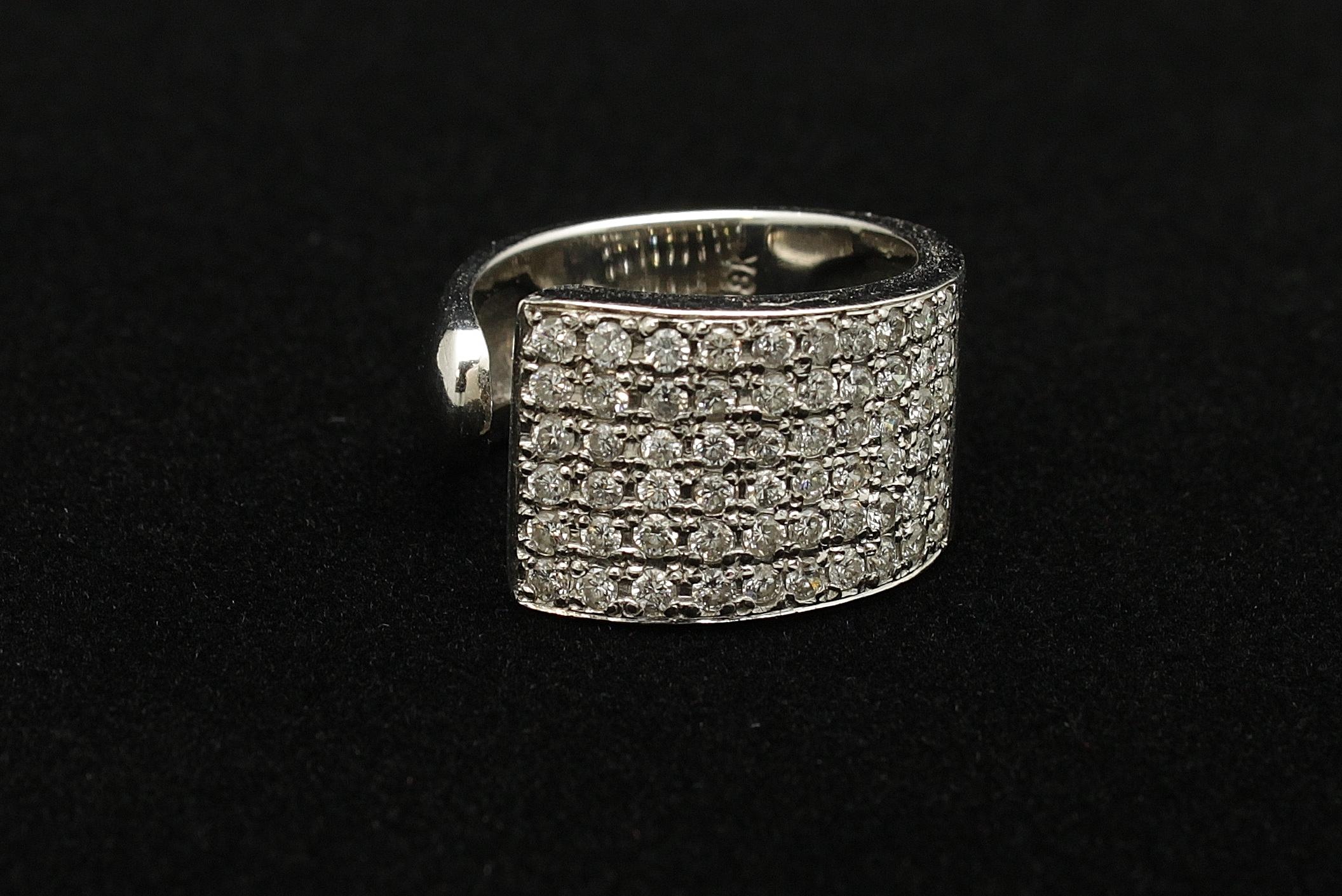 Vintage 18kt Diamond 1.8cts
