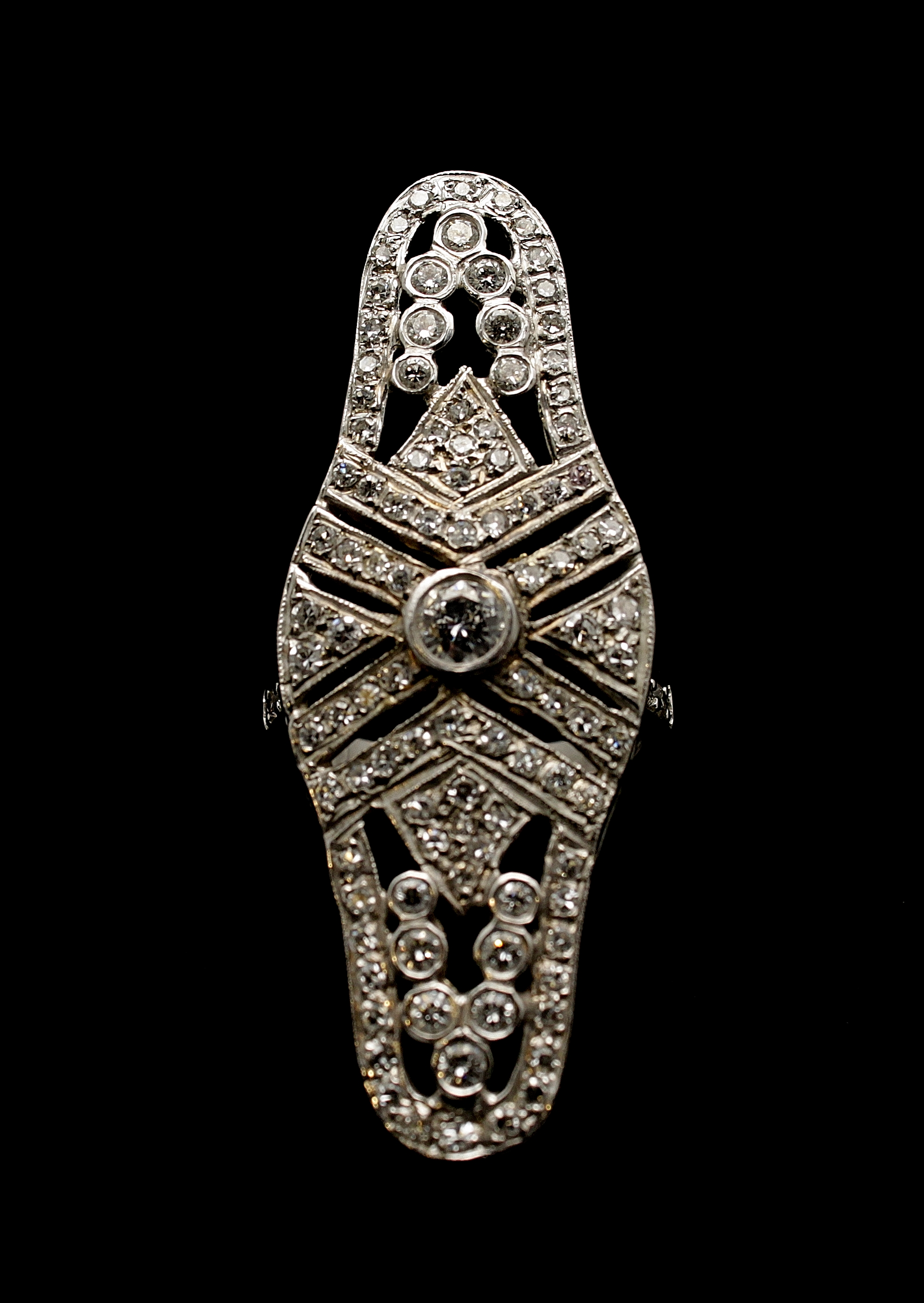 Vintage 14kt Diamond Ring 1.50cts
