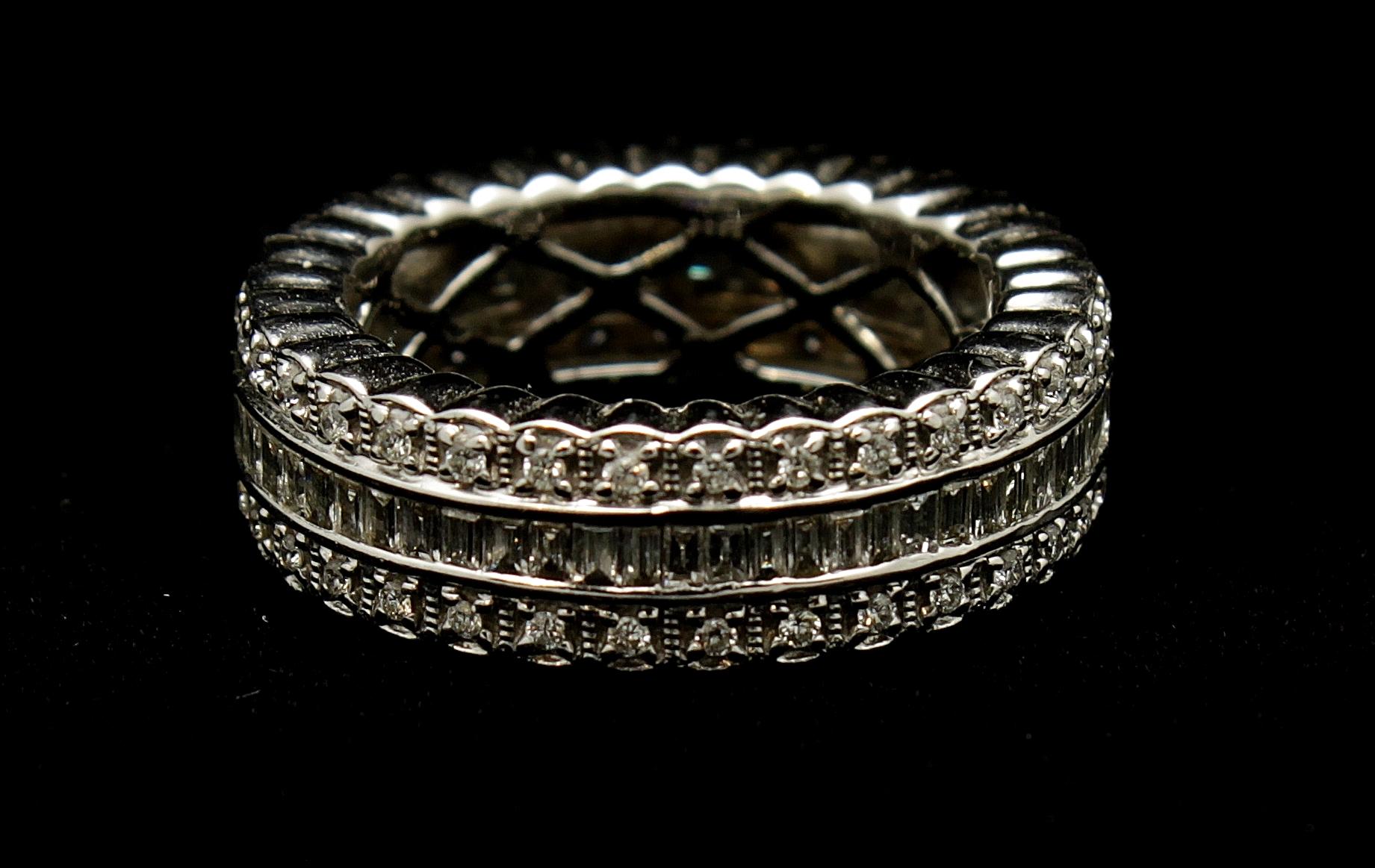 18kt Diamond Band 2.6cts