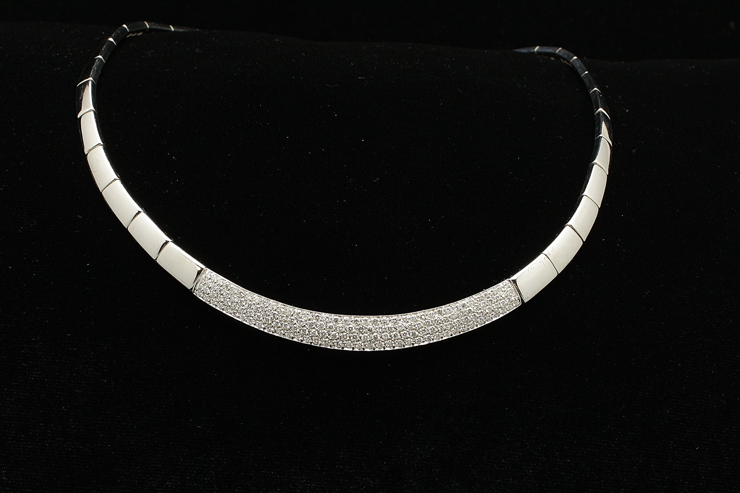 Vintage 18kt Diamond 4.5cts Necklace