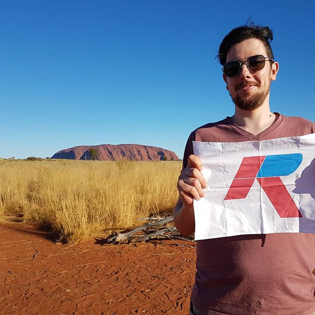 Ardent is on the road with Anthony at Uluru today.  #ardentarchitects #uluru #holiday