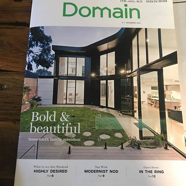 One of our projects is in Domain this week. The article:  www.domain.com.au/news/house-of-the-week-a-true-one-of-a-kind-in-northcote-781473/  For some more images check out http://ardentarchitects.com/1-northcote-st  #archdaily #architecture #melbourne #melbourneinteriors #melbournearchitecture #northcote #interiors