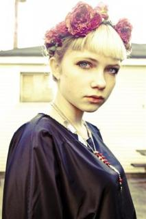 Teenage writer, fashion blogger and editor Tavi Gevinson is shown in a recent handout photo.
