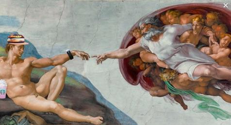 AND GOD CREATED MILLENNIAL EARTH