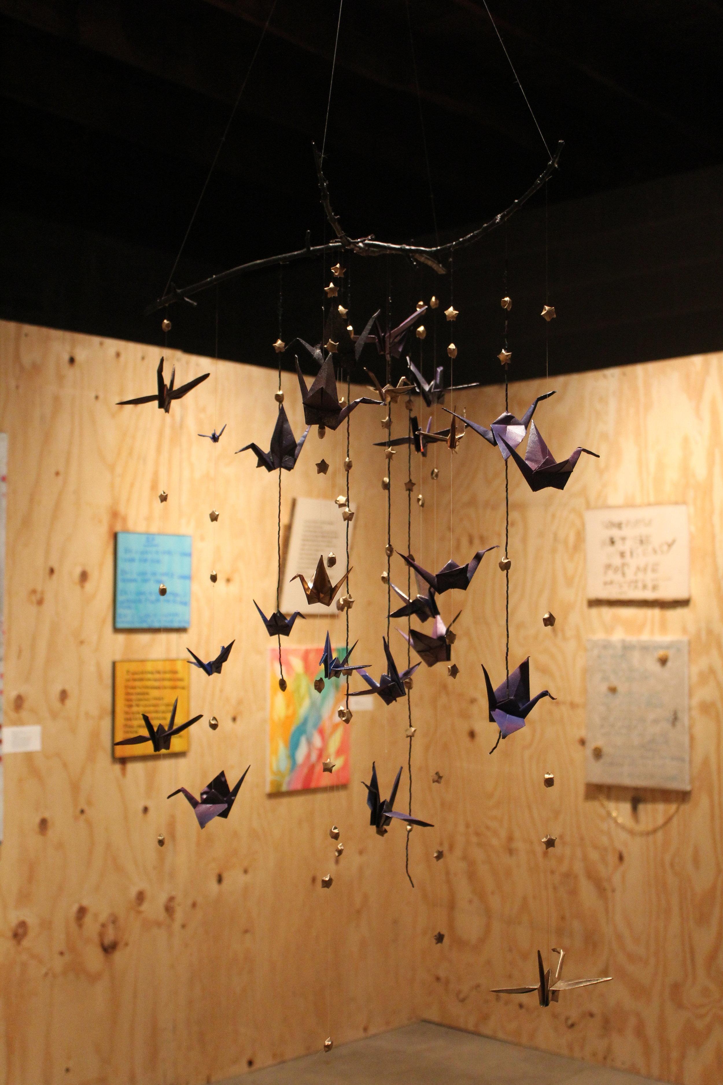 Cosmic Cranes by L D-A.JPG
