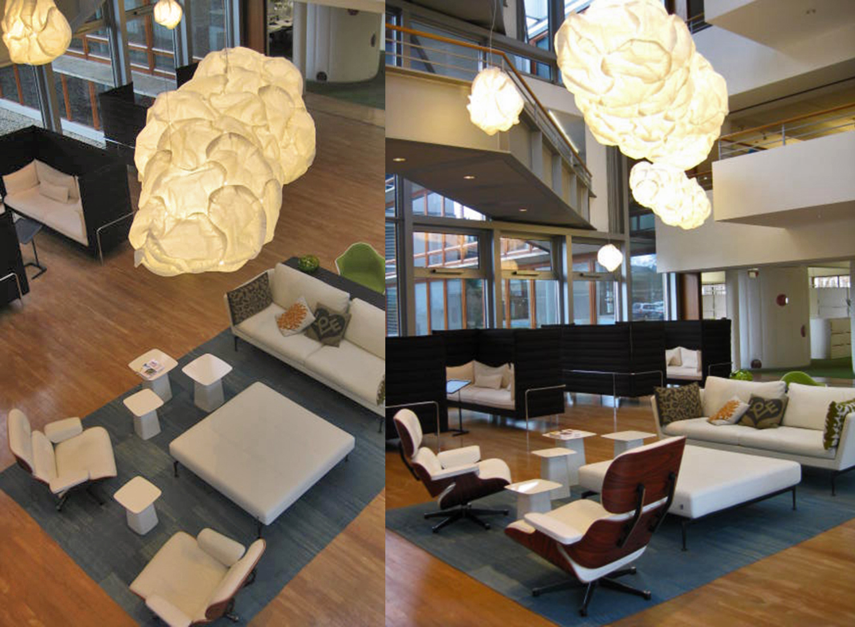 Vitra Lobby at HQ, Birsfelden - CH