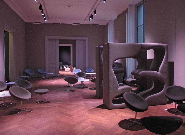 Architect's Lounge at SAM for SwissBau 2010, Basel - CH