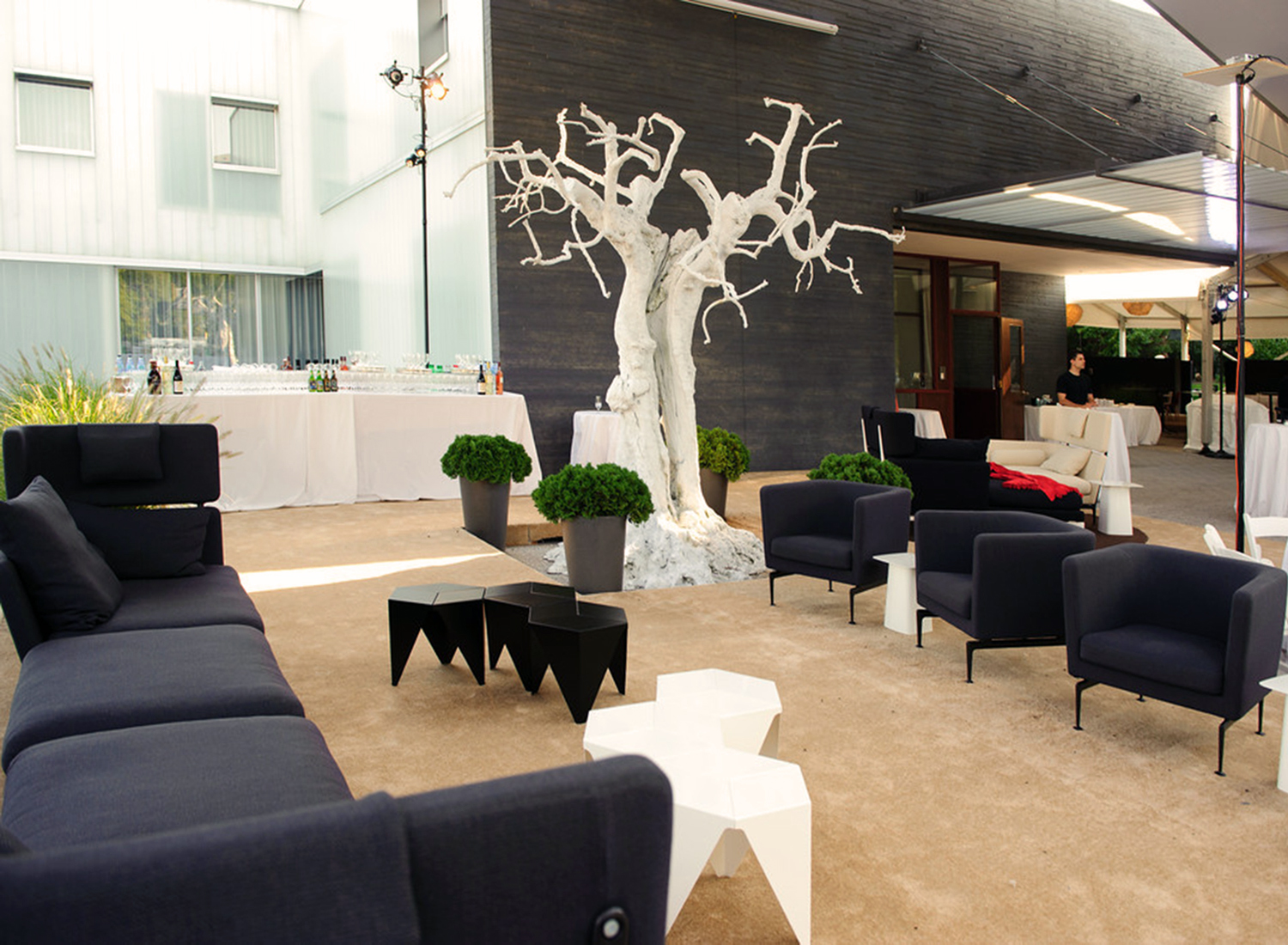 Vitra Lounge at the Swiss Embassy Soirée Suisse 2011, DC - USA