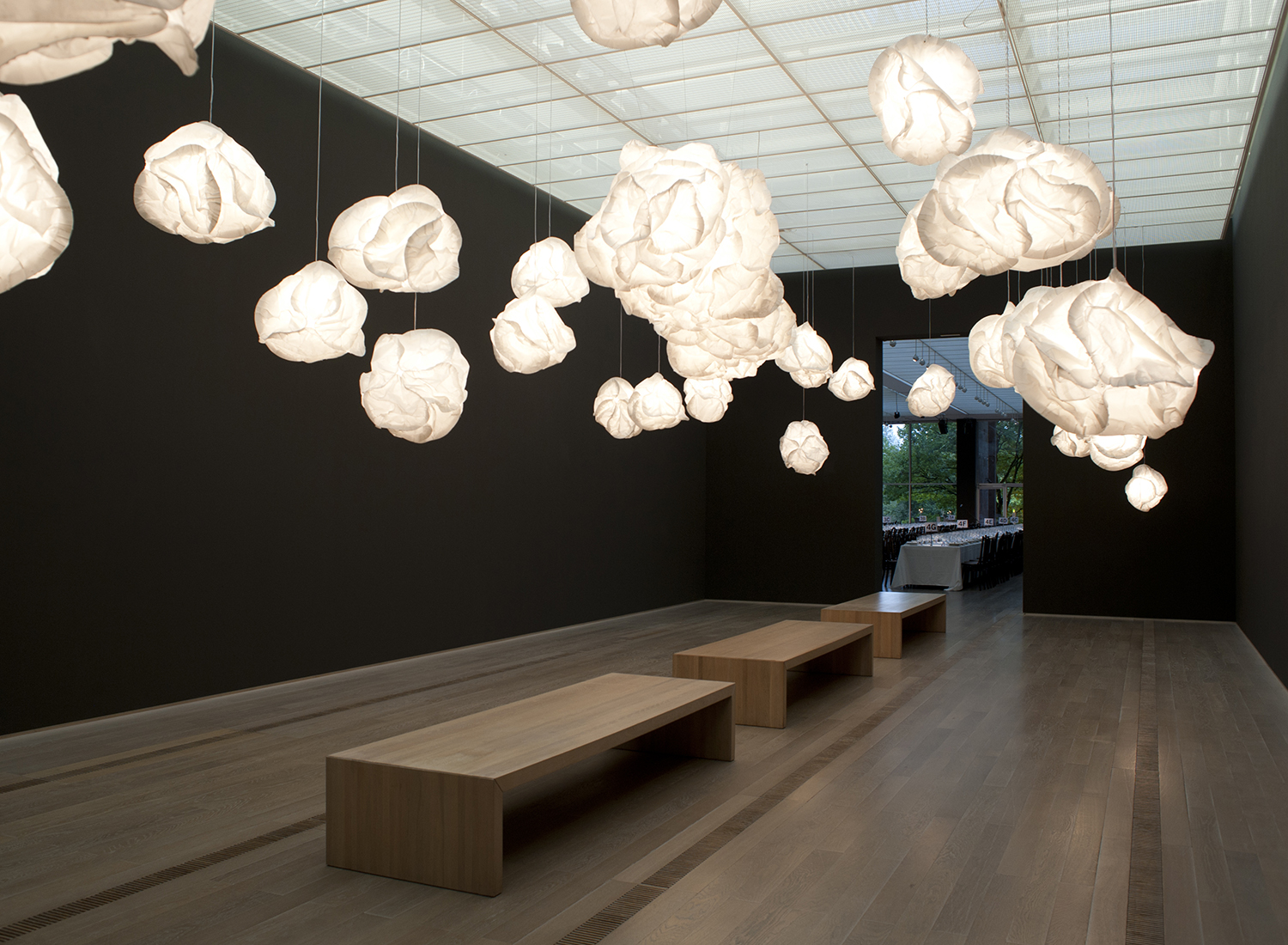 Creative support for event at Fodation Beyeler, Riehen - CH