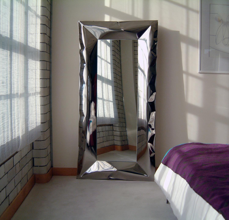 blown stainless steel mirror