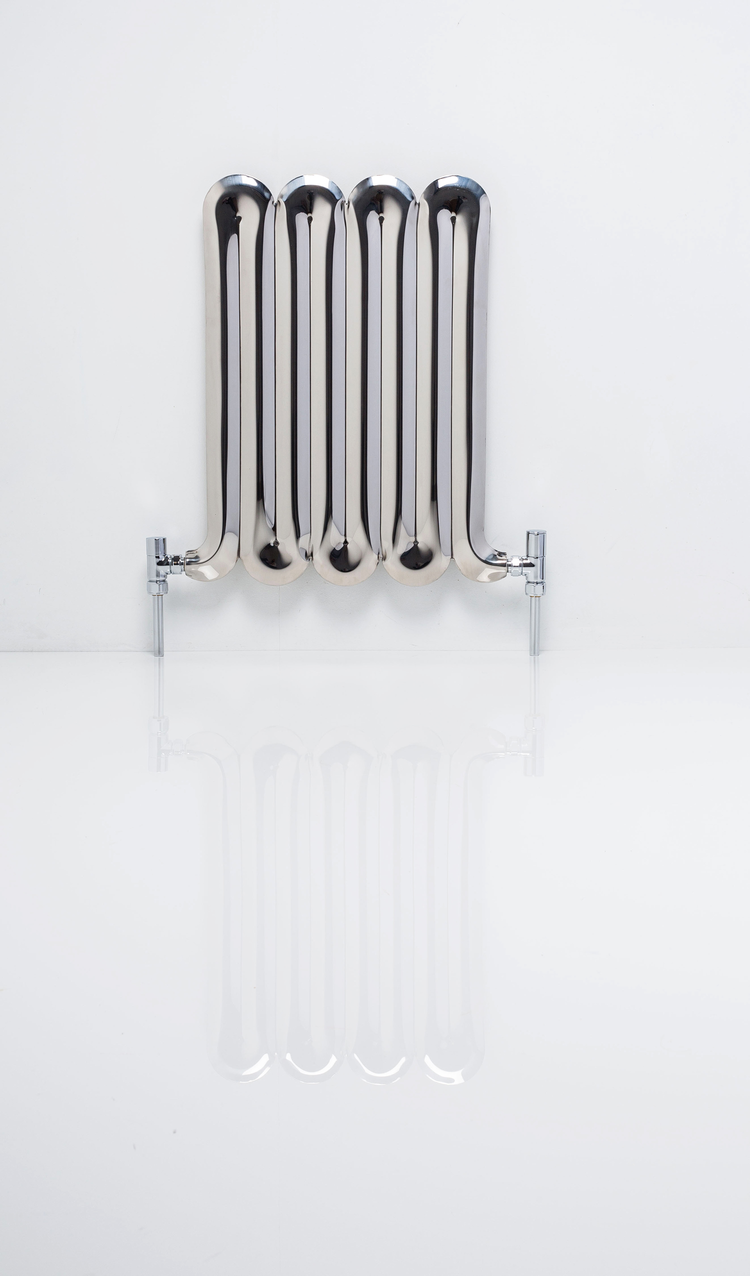 The Squeeze Radiator (shown in mirror polished stainless steel)