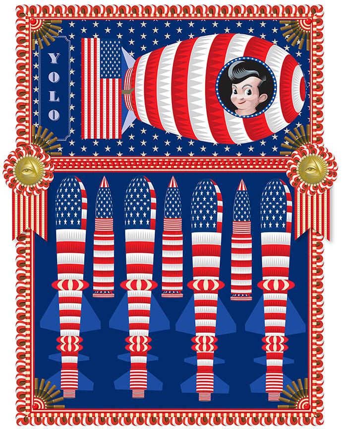 My America: Big Boy, Fat Boy, Q. Cassetti, 2013, Trumansburg, NY