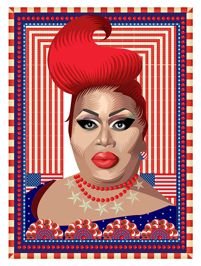 My America: American Royalty, Latrice Royale, Q. Cassetti, 2013, Trumansburg, NY
