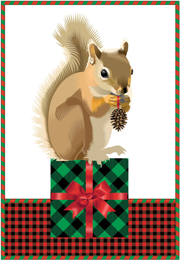 Advent 2013: Day Twenty Four: The Gift Giver,   Q. Cassetti, 2013   Trumansburg, NY   Adobe Illustrator CC