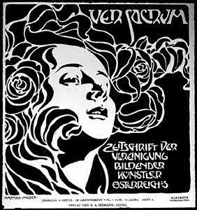 Cover of Successionist journal, Ver Sacrum, 1899, Koloman Moser (1868-1918)