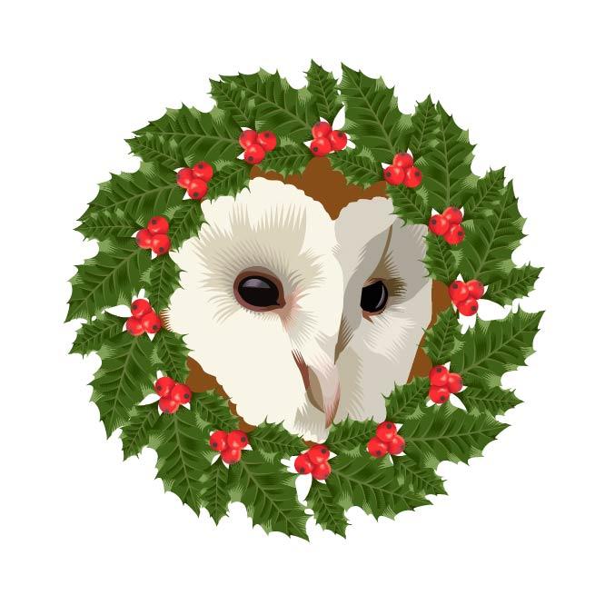 Advent 2015: Day Twenty One   Holiday Porthole   Q. Cassetti 2015
