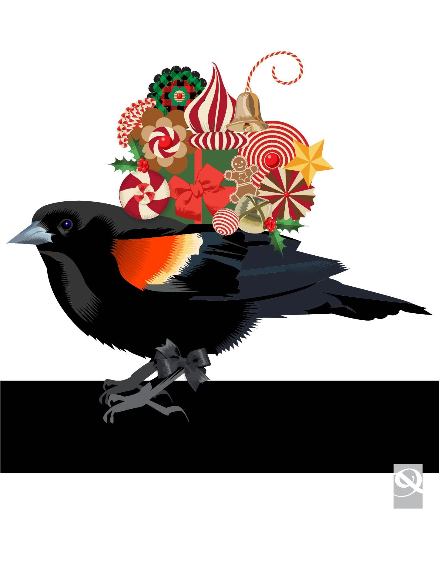 Advent 2015: Day Twenty Three Holiday Messenger   Q. Cassetti, 2015