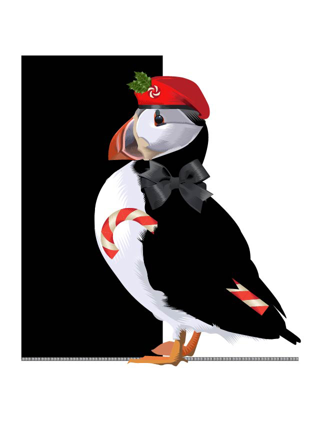 Holiday Birds:: Advent 2015