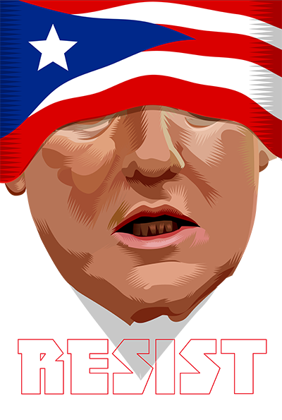 """There are two ways to be fooled. One is to believe what isn't true; the other is to refuse to believe what is true.""  ―  Søren Kierkegaard   Blind to all Week Thirty Eight of the Resistance Q.Cassetti 10.12.2017 Adobe Illustrator"