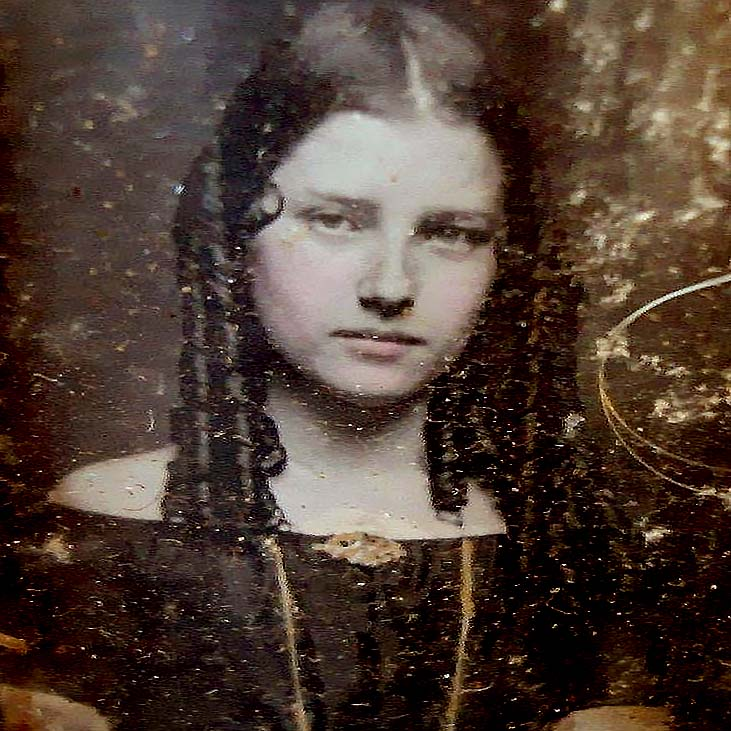 A Beauty in Mourning The daguerreotype was the first commercially successful photographic process, invented around 1837 by Louis-Jacques-Mandé Daguerre..jpg