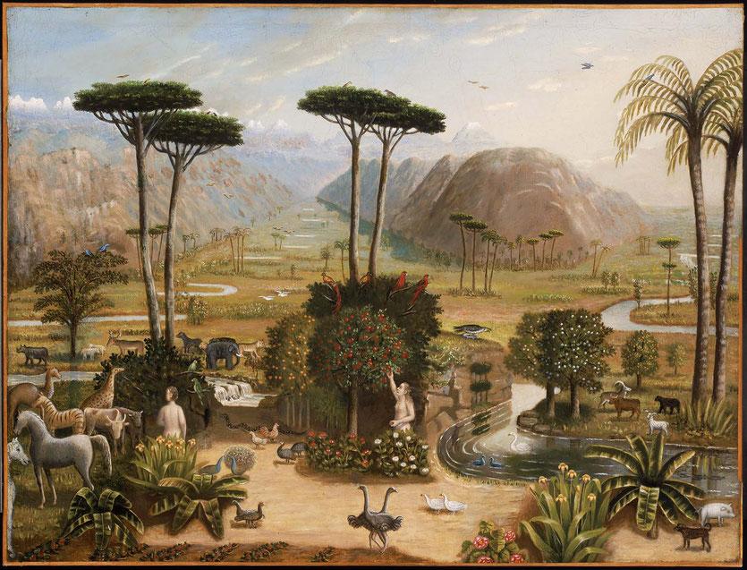 The Garden of Eden, 1860.