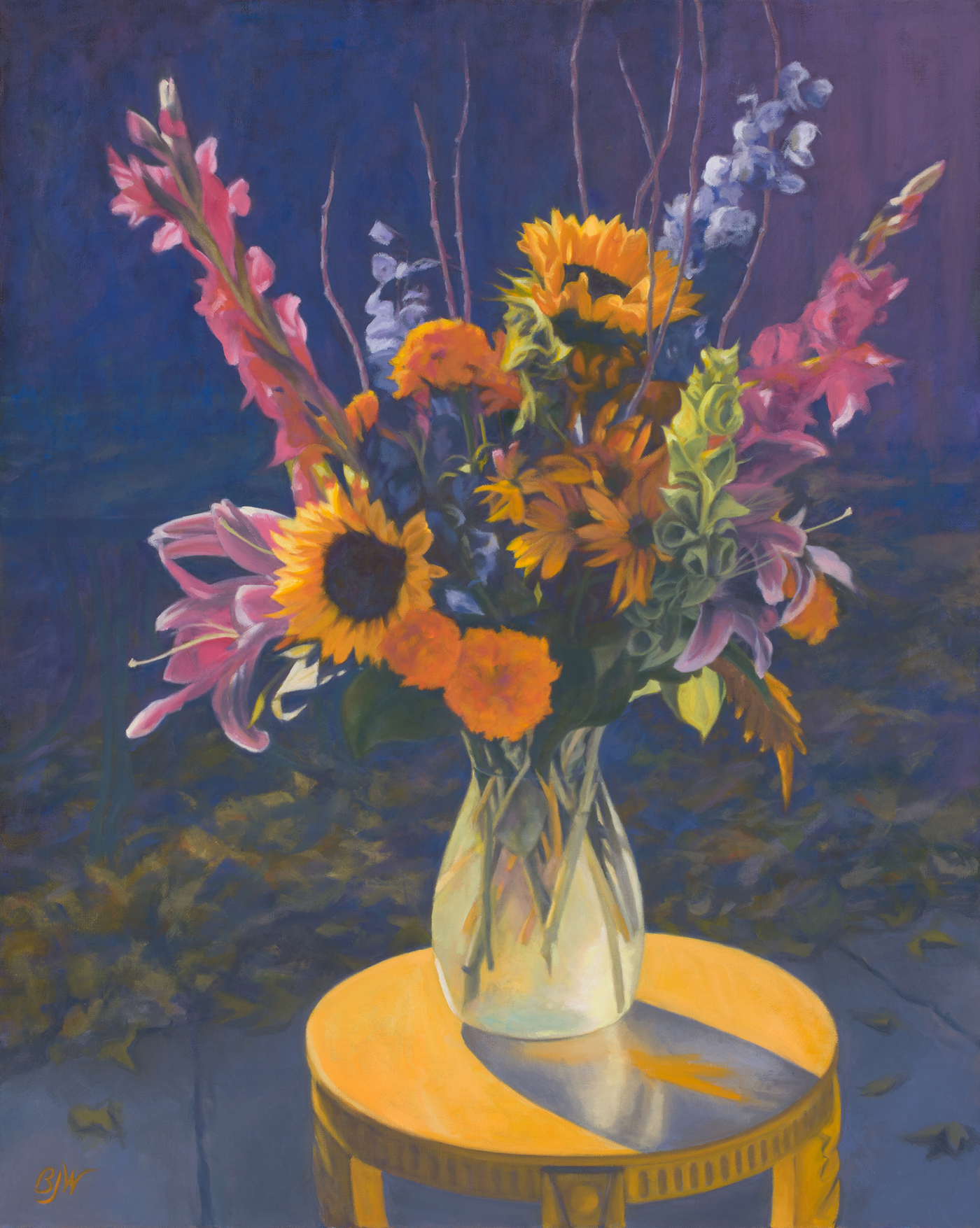 Bonnie Brae Blooms  by Betsy Johnson Welty