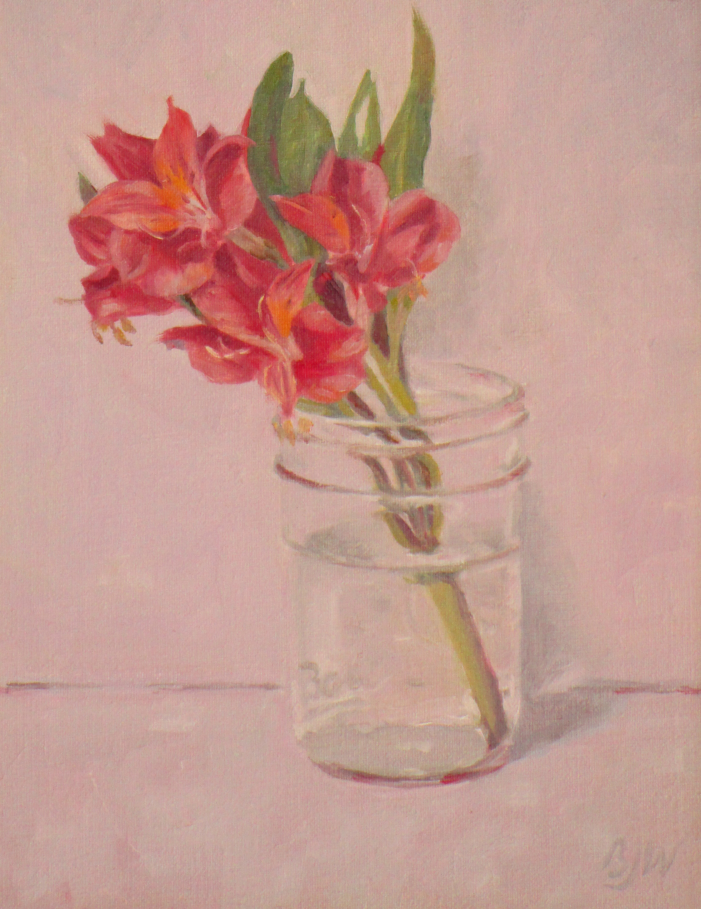 """Ball Jar Posies"" Oil by Betsy Johnson Welty"