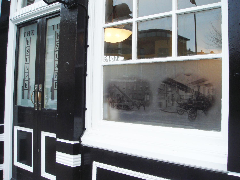 Windows, Escape Pub, Southwark, London.
