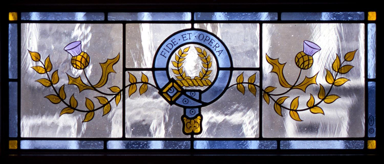 Scottish Crest toplight, Islington, London.