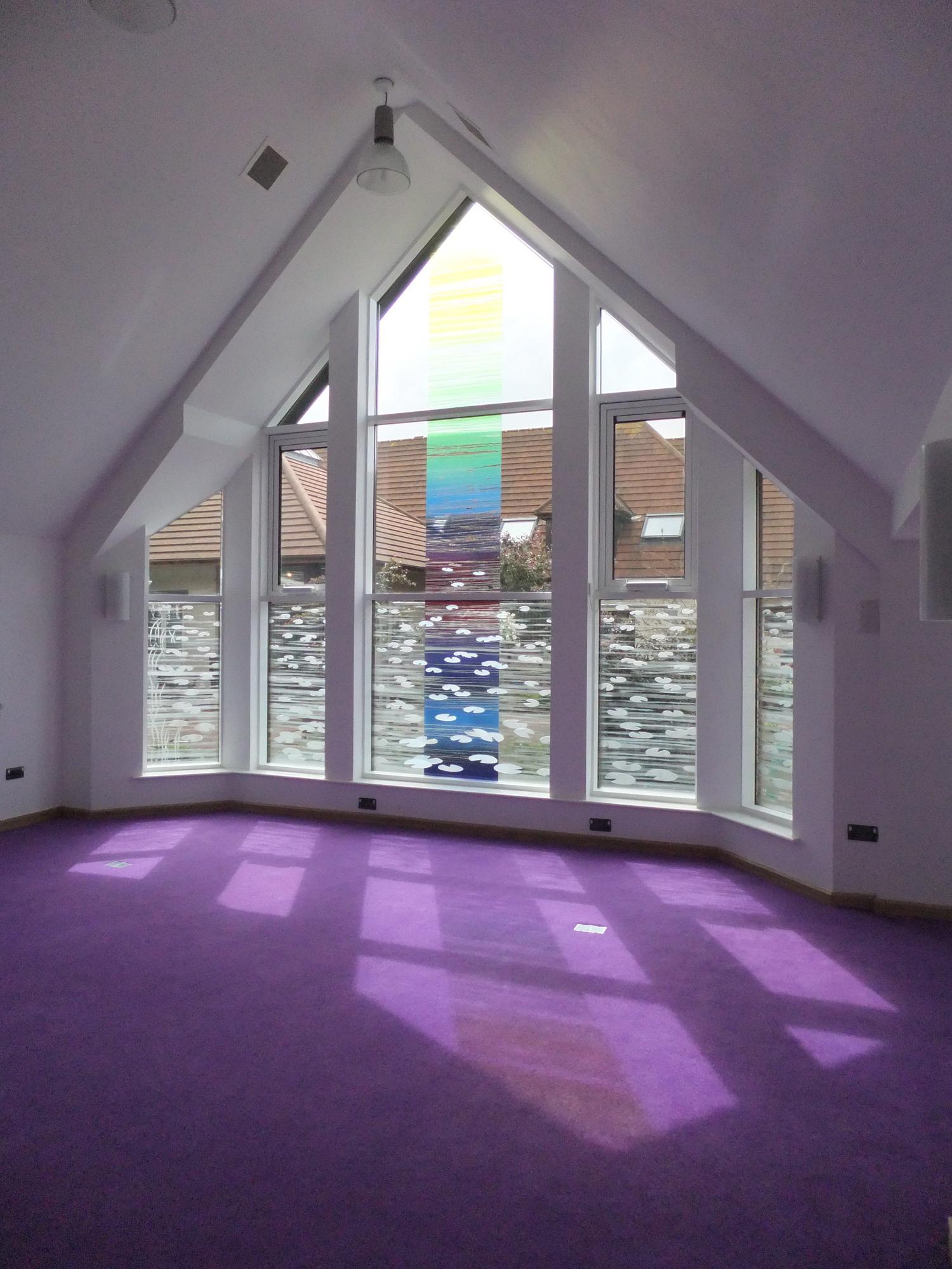 'Colour Flow', The Sanctuary, Martlets Hopsice, Hove.