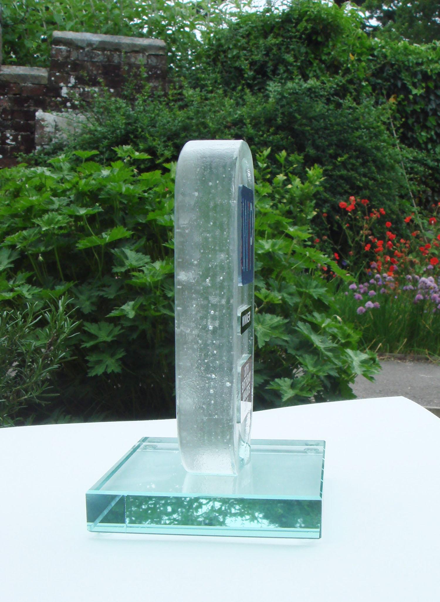 Side view of Women in Property Award.