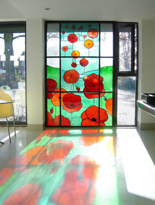 'Poppies', Oakwood Centre, Woodley, Reading.