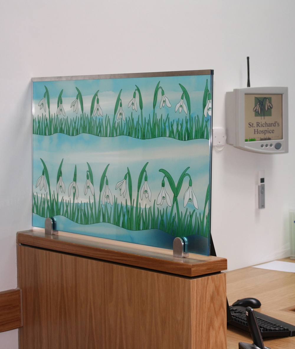 Screens for St Richard's Hospice, Worcester. In-Patient Unit.