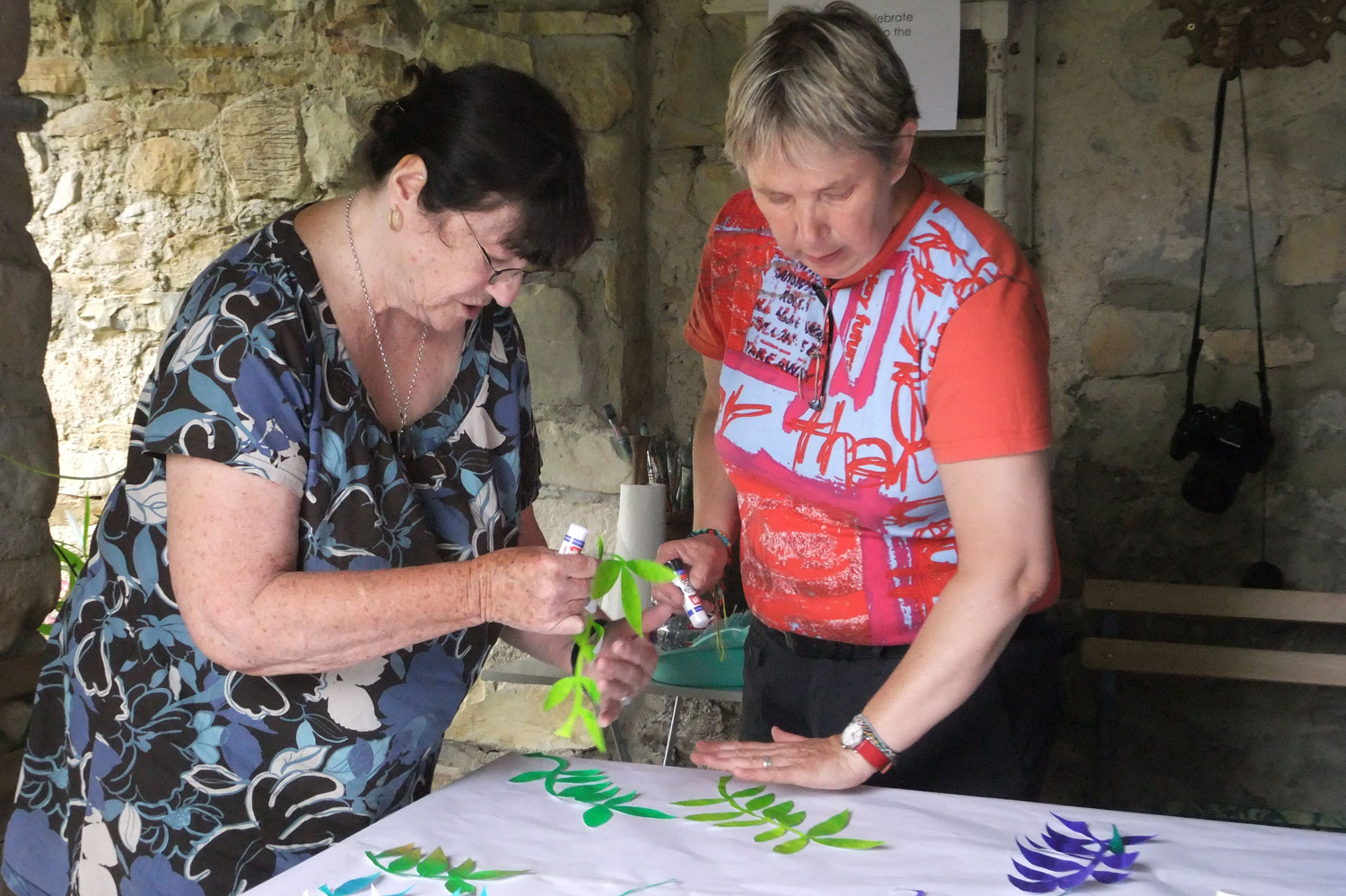 Dilys and Stoney gluing