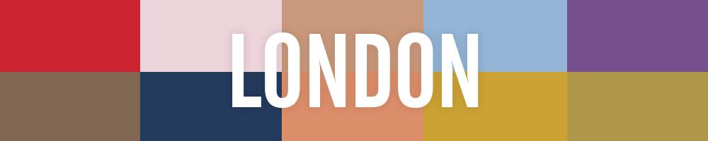Pantone Fall Colors Gallery: London edition