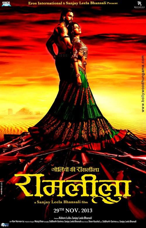 Ram Leela  releases this November and stars Ranveer Singh and Deepika Padukone.