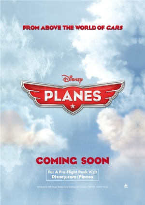 The teaser poster of Disney's  Planes